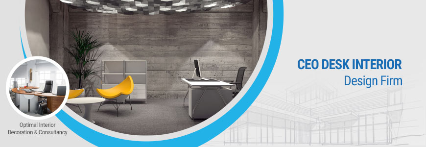 ceo desk interior design firm in Dhaka