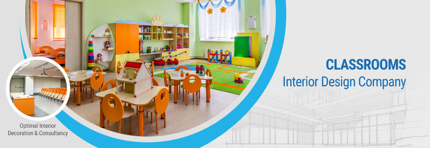 Classrooms Interior design company in Bangladesh