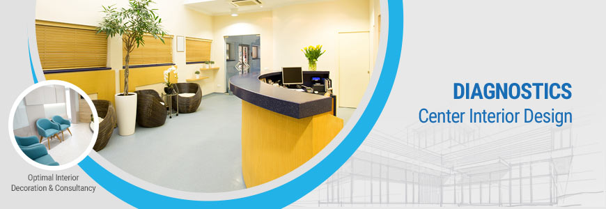 Diagnostics center interior design in Dhaka