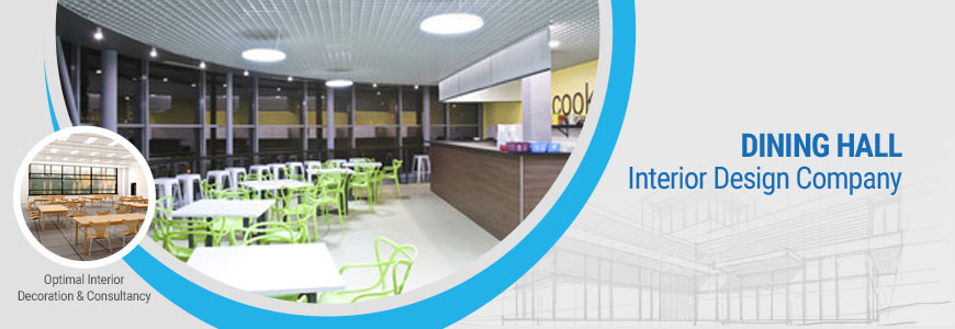Dining hall interior design company in Bangladesh