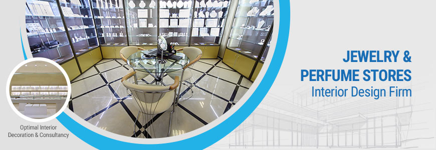 Jewelry  perfume stores interior design firm in Dhaka