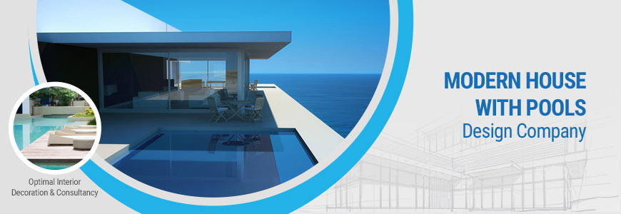 Modern houses with pools design company in Dhaka