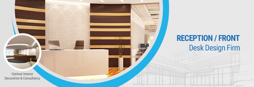Reception / Front desk interior design company in Dhaka, Bangladesh