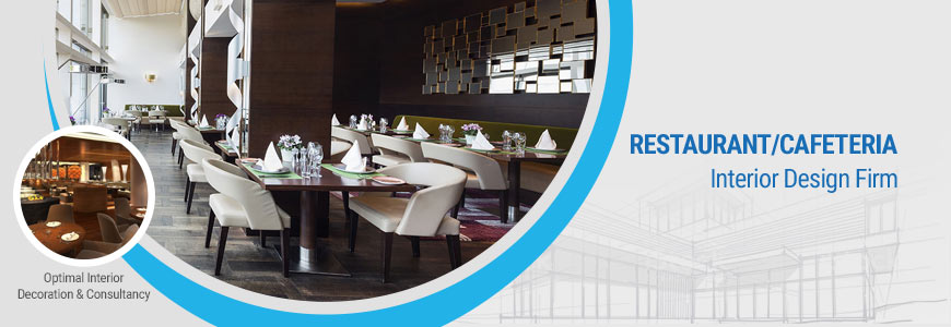 Restaurant, Cafeteria interior design firm in Dhaka