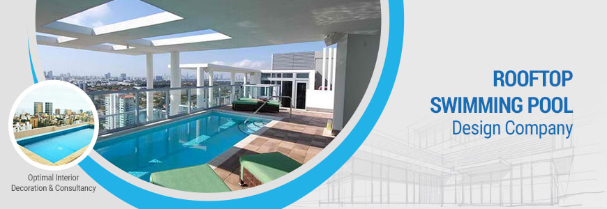 Rooftop swimming pool design company in Dhaka
