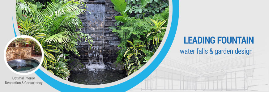 Waterfall, Fountain, Rooftop Garden Installation Company ...